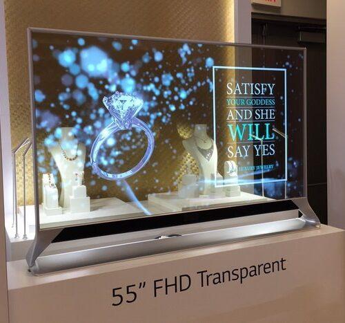 مدل مفهومی تلویزیون نامرئی ال جی در CES 2021 به نمایش درمیآید